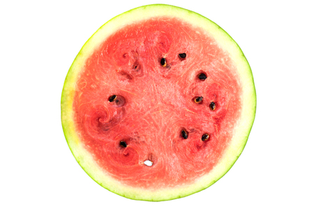 water melon fresh fruit food isolated sweet