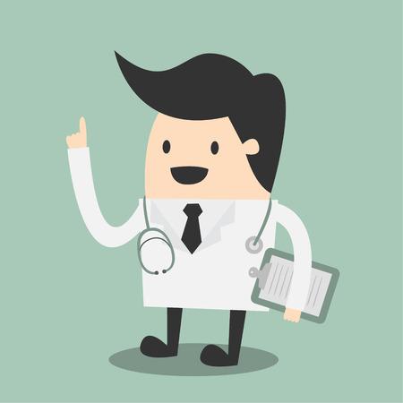 Doctor illustration Illustration