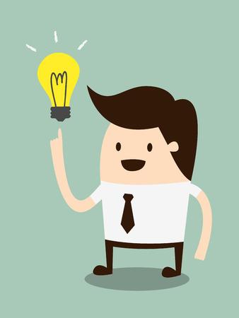 ビジネスマンの取得のアイデア