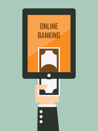 e market: mobile banking