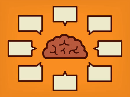 Brain concept of education and science