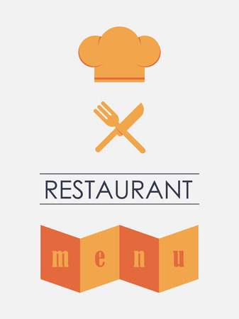paper delivery person: Restaurant Menu Card Design template