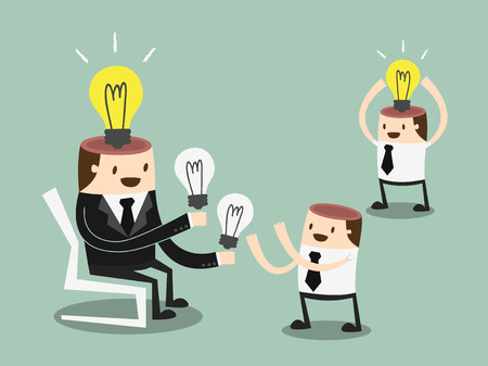 Share Ideas illustration Vector