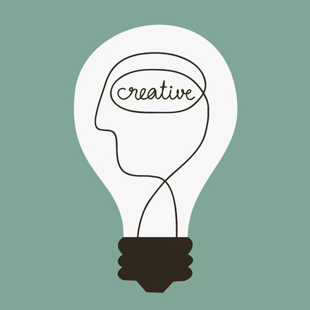 idea concept: Creative Idea  illustration