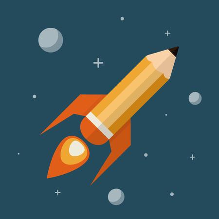 pencils: Creative Space   illustration