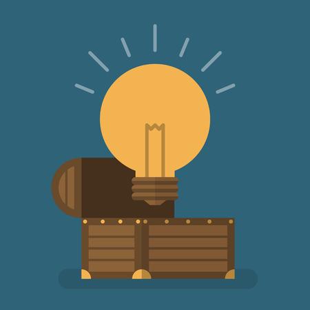treasure chest: Idea is treasure
