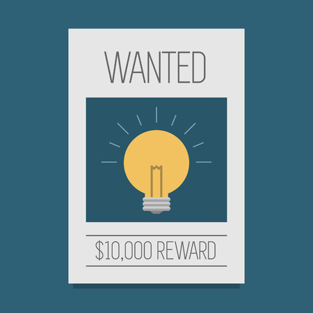 wanted: Ideas wanted