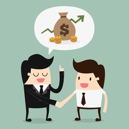 Gli uomini d'affari Discussione