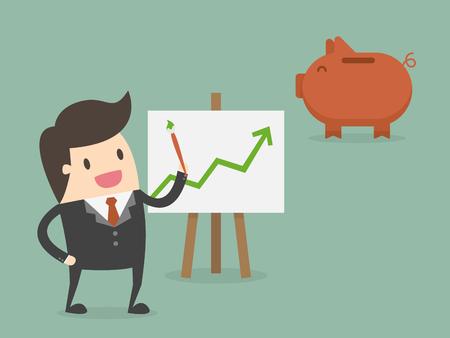 Illustrazione di concetto di affari.