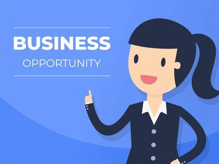 Presentation Background. Business Concept Illustration. Ilustração