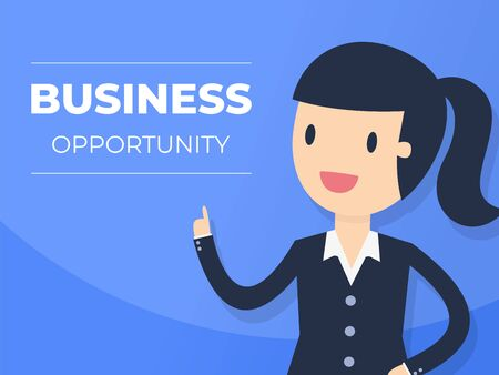 Presentation Background. Business Concept Illustration. Illustration