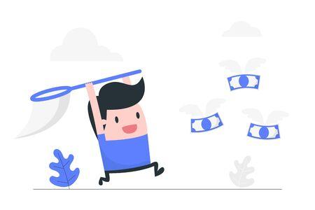 Business concept illustration. Vetores