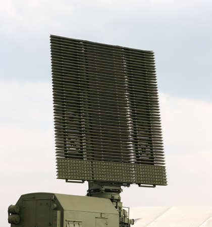 communications tower: Military radar antenna in the MAKS 2007 show