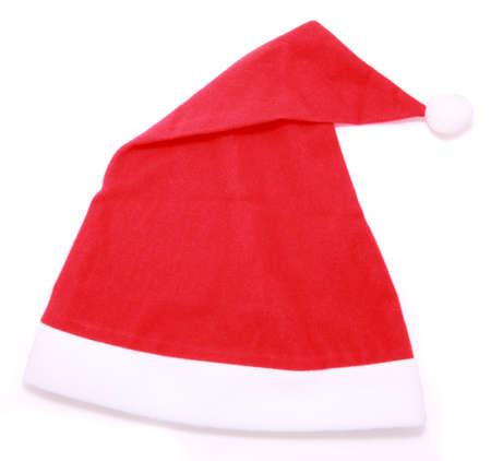 Santa hat isolated on white background  Standard-Bild