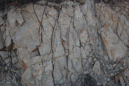 Cracked Granite Stone Texture Stock Photo - 7728692
