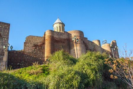 Narikala is an ancient fortress overlooking Tbilisi, the capital of Georgia.