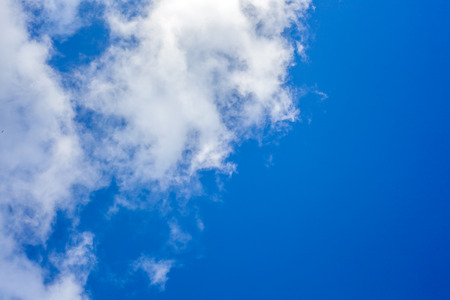 Clouds with blue sky Stock Photo