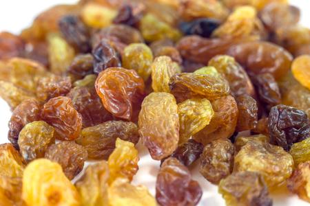 Fond de raisins secs raisins, gros plan. Banque d'images