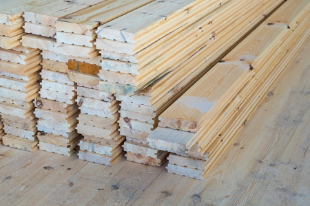 material for a floor from a tree of a larch.