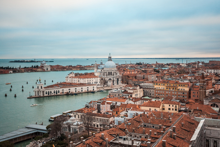 Panoramic view of Venice from the Campanile di San Marco.