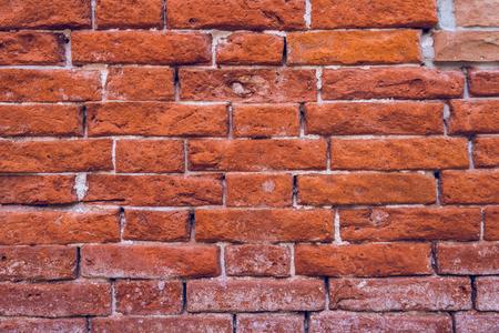 Fond de texture de modèle de mur de brique rouge. Banque d'images - 107273771