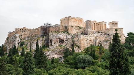 Parthenon-Tempel auf der Akropolis von Athen, Zentrum von Athen, Griechenland