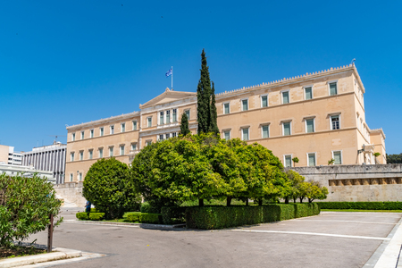 Official residence of the President of the Hellenic Republic. Designed by Ernst Ziller, built in a neoclassical style in the years 1891-1897