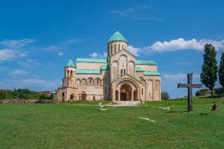 Cerkiew katedralna Bagrati (XI w.) w mieście Kutaisi, Gruzja. Podróż.
