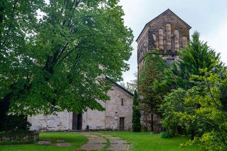 Martvili orthodox monastery built in VII century. Georgia, samegrolo. Travel