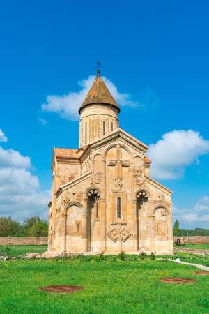 Old orthodox church in the village Samtavisi. Georgia, architecture