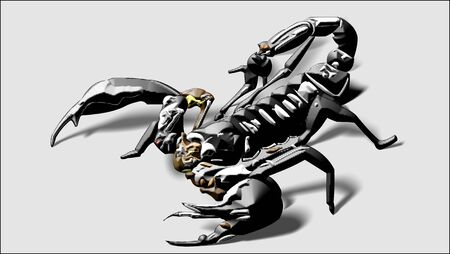 Scorpion, desert, death, sting Imagens