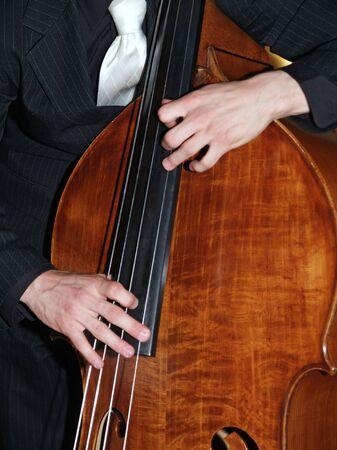 Jazz bass     Stock Photo