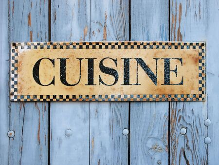 Cuisine sign