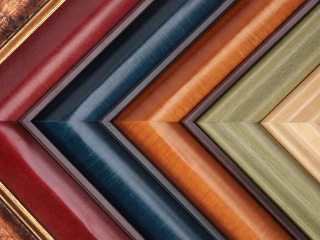 custom home: Picture frame samples