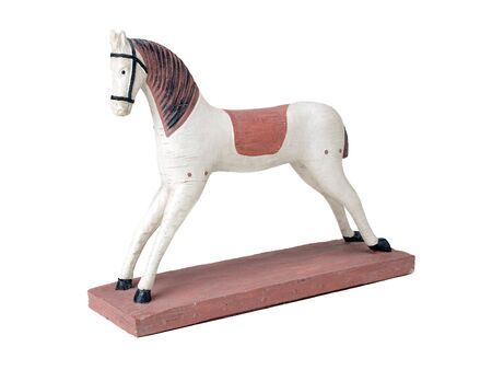 toy horse Stock Photo