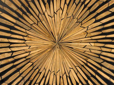 marquetry:  marqueter�a en taz�n de madera Foto de archivo