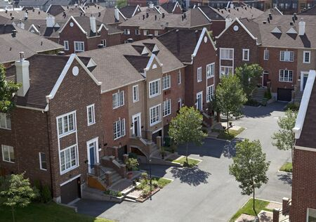 Residential district Stock Photo - 17299279