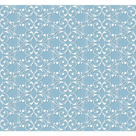 Seamless vintage background Vector background for textile design. Wallpaper, background Illustration