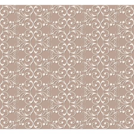 Seamless vintage background Vector background for textile design. Wallpaper, background 向量圖像