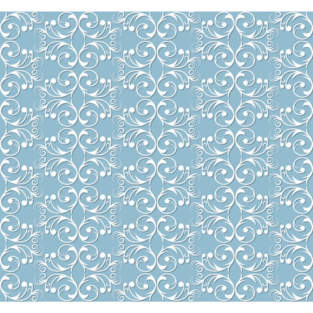 Seamless vintage background Vector background for textile design. Wallpaper, background Stock Photo