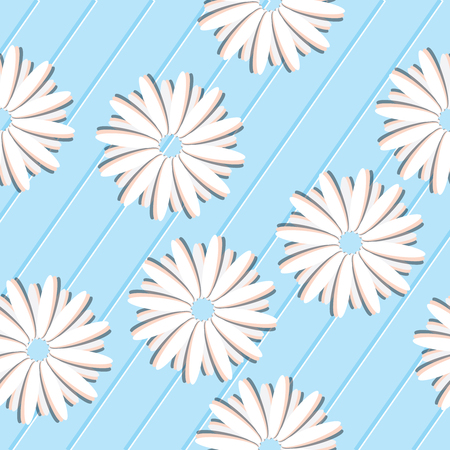 Seamless pattern with flowers. Can be used for background, wallpaper