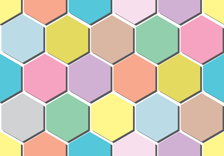 Abstract seamless pattern for the fabric of the colored circles. Illustration