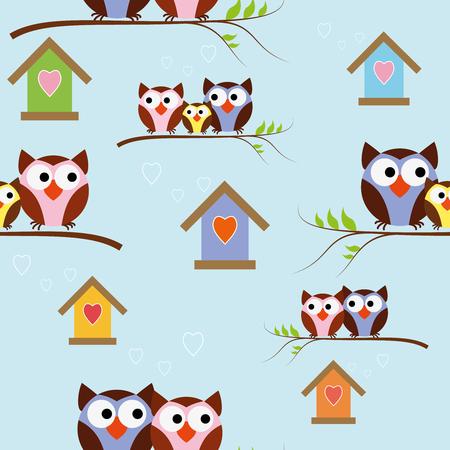 Children s background design. Can be used for textiles, paper, postcards. Ilustração