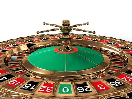 Roulette. 3D Stock Photo