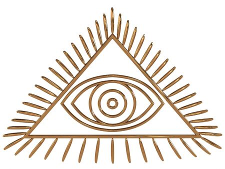 freemasons: All Seeing Eye. 3D