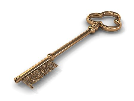 Key to access. 3D