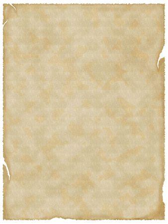 vintage parchement: Empty old paper. Textured background