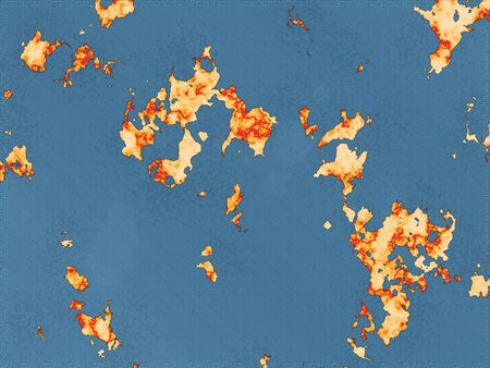 foreign land: Map foreign land. Another world