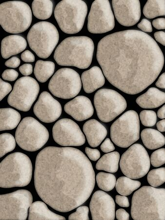 Stone walls abstract background Stock Photo