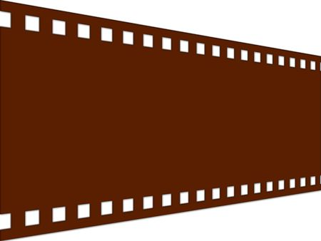 Grunge film strip photo